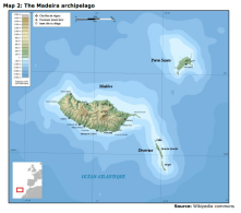 Map 2: The Madeira archipelago