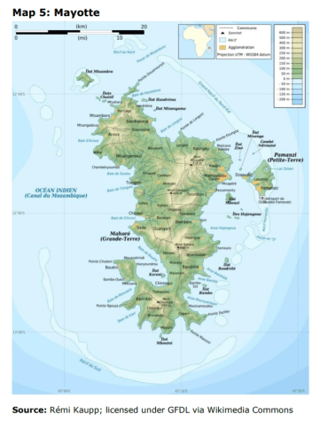 Map 5: Mayotte
