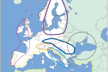 Figure 3: Macro-regional strategy areas of the European Union