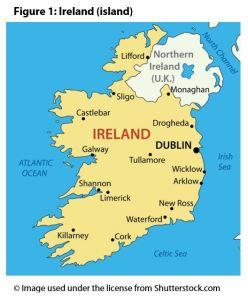 Figure 1: Ireland (island)