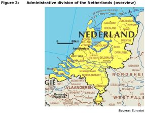 Figure 3: Administrative division of the Netherlands (overview)