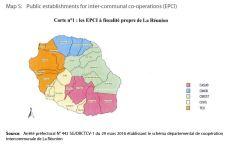 Map 5: Public establishments for inter-communal co-operations (EPCI)