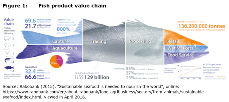 Figure 1: Fish product value chain