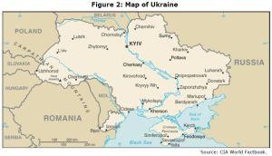 Figure 2: Map of Ukraine Source