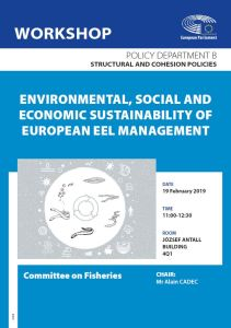 PECH workshop: Environmental, social and economic sustainability of European eel management