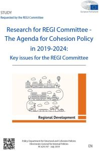 The Agenda for Cohesion Policy in 2019-2024: Key issues for the REGI Committee