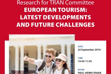 TRAN Study presentation: European tourism - latest developments and future challenges