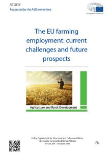The EU farming employment: current challenges and future prospects