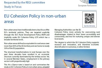 At a glance: EU Cohesion Policy in non-urban areas