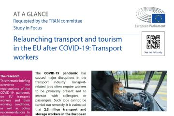 At a glance: Relaunching transport and tourism in the EU after COVID-19 - Part II: Transport workers