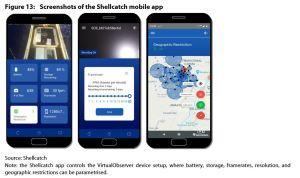 Figure 13: Screenshots of the Shellcatch mobile app
