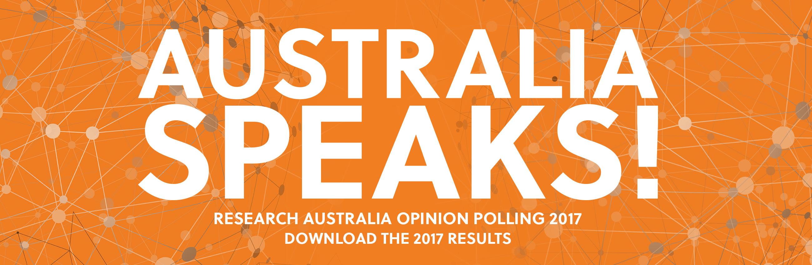 Research Australia Opinion Polling 2017