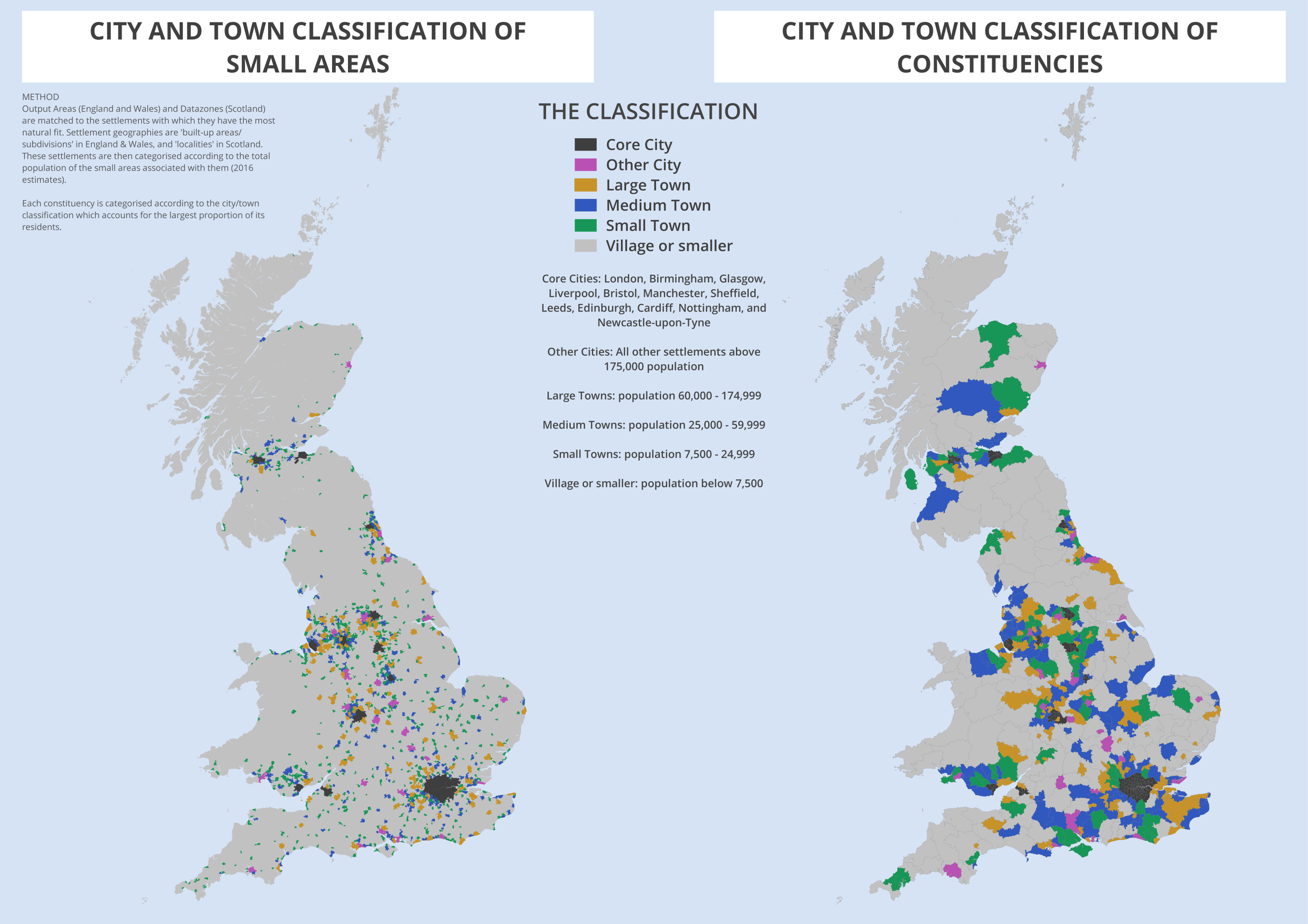 City Amp Town Classification Of Constituencies Amp Local