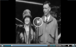 Lindbergh and his mom