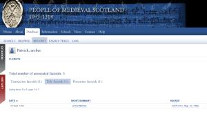 People of Medieval Scotland