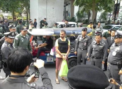 Erawan Shrine Bombing Suspect