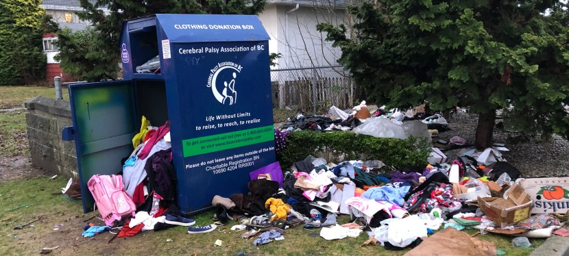 British Columbians Willing to Ban Clothing Donation Bins