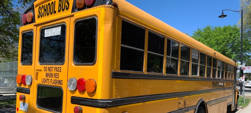 British Columbians Support Having Seatbelts in School Buses