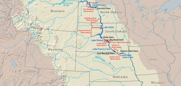 Upper Missouri River affect the sustainability