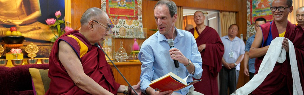 The Dalai Lama has called the productive exchange between science and Tibetan Buddhist culture a 100-year project.