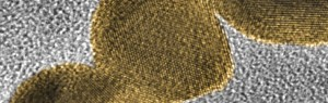 Gold nanoparticles produced using a laser