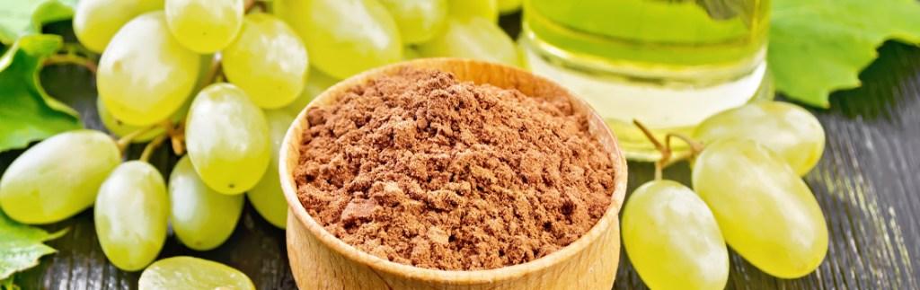 Chardonnay grape seed flour