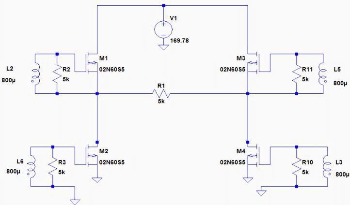 Schematic Diagram Of H-bridge