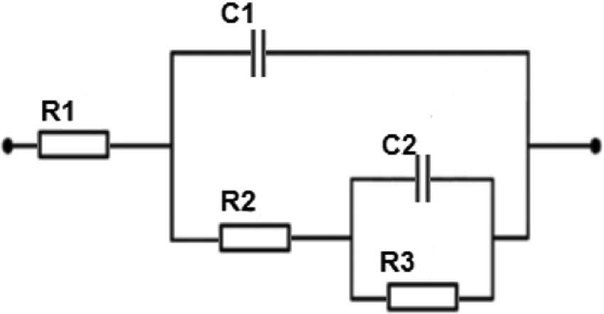 Model The Equivalent Electric Circuit Of The Electrolytic