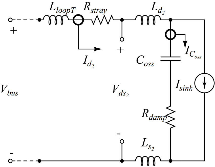 Turn-off Switching Transient Equivalent Circuit [16