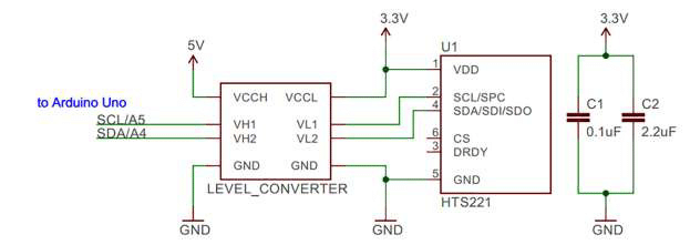 Temperature And Humidity Sensor Wiring Diagram.