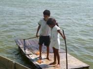 Transportation of the stilt villages