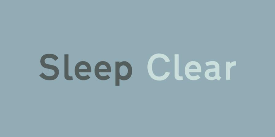 Sleep Clear 4