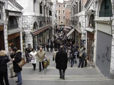 """Walking in Venice"" by Hessam Armandehi"