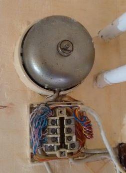 Ancienne installation Téléphonique