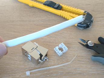 Câble Ethernet Grade 3 Ou Catégorie 6 Réseau Vdiréseau Vdi