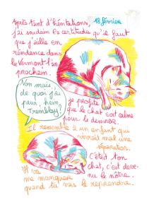 Journal, Julie Delporte, extrait 17