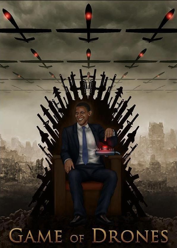 P-game-of-drones