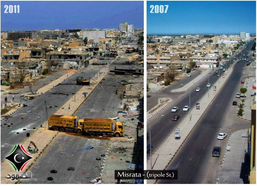 La Libye, Après / Avant