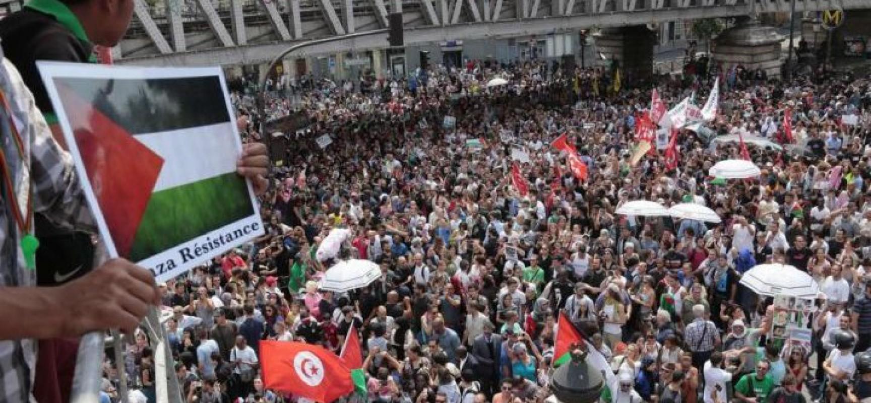 Un bon français ne doit pas participer à des manifestations pour la Palestine