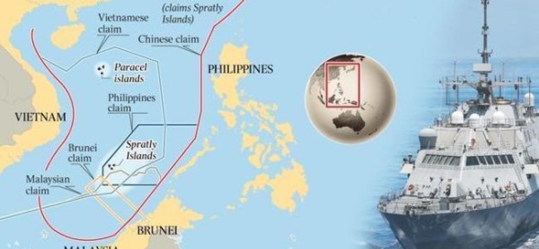 Ça chauffe en mer de Chine. Et ça pourrait bien péter !