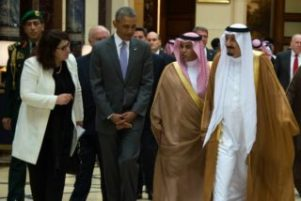 le-president-americain-barack-obama-recu-par-le-roi-d-arabie
