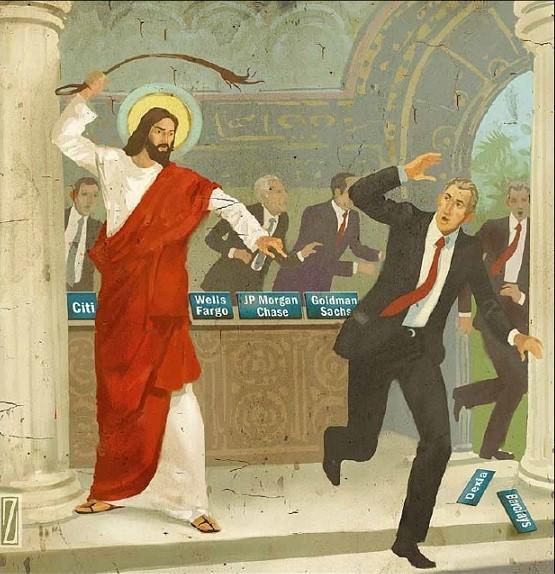 Jésus chassant les usuriers du temple