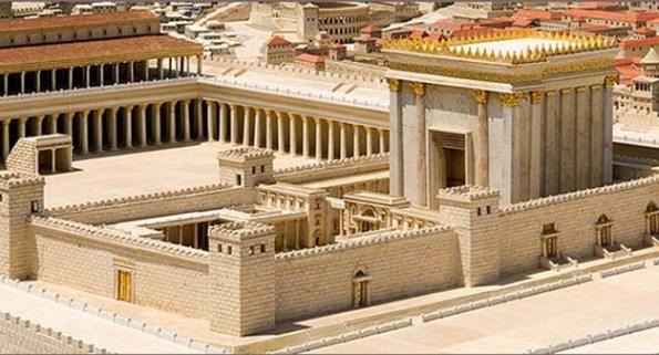 Reconstitution du second temple de Jérusalem