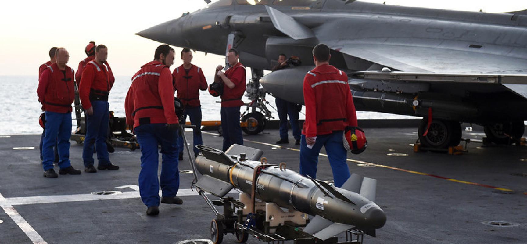 Syrie : la France serait à court de munitions, les Etats-Unis à la rescousse