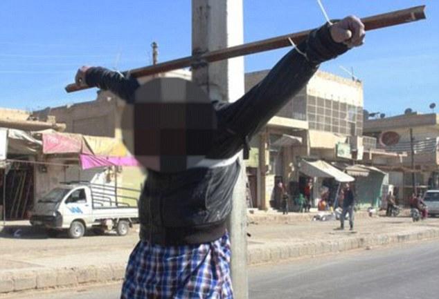Exécution dans la ville de Mansoura à l'ouest de Raqqa.