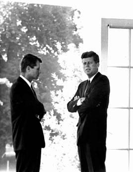 John et Bobby Kennedy