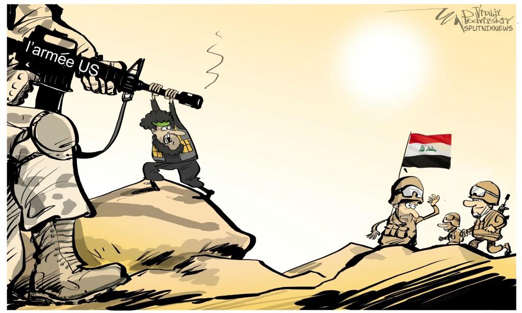 Irak: 21 combattants progouvernementaux tués dans un raid US En savoir plus: https://fr.sputniknews.com/international/201610061028071851-coalition-us-frappe-milices-irak-daech/