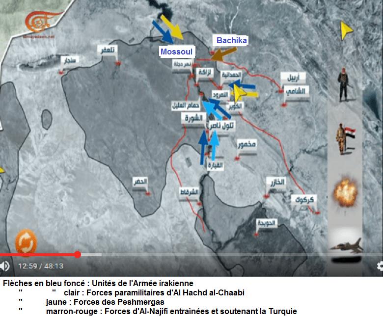 4 participants aux combats à Mossoul