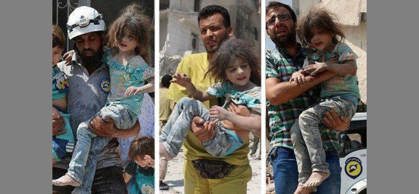 MANIPULATION   La petite Syrienne qu'on sauve tout le temps