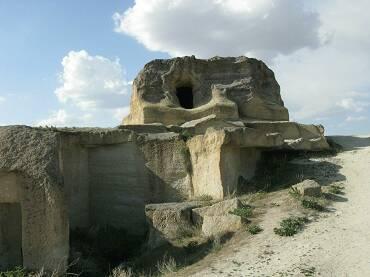 Un village Cavusin dans la région de la Cappadoce en Turquie. (Courtesy of Alexander Koltypin)